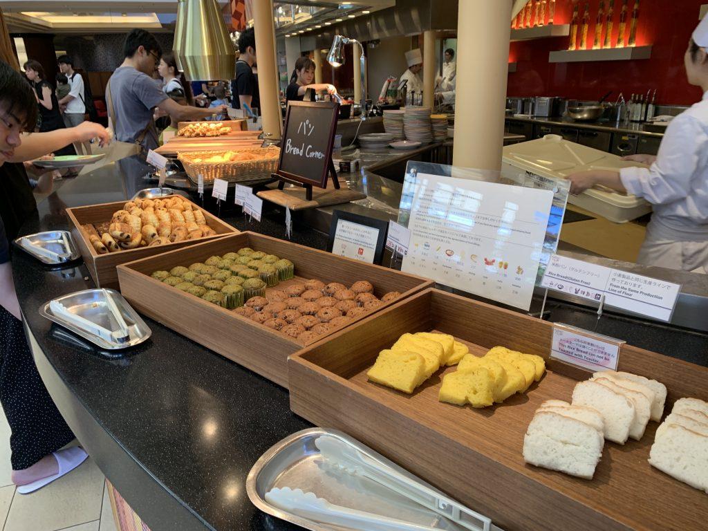 東京灣喜來登大酒店Grand-Café-早餐有麵包西餅
