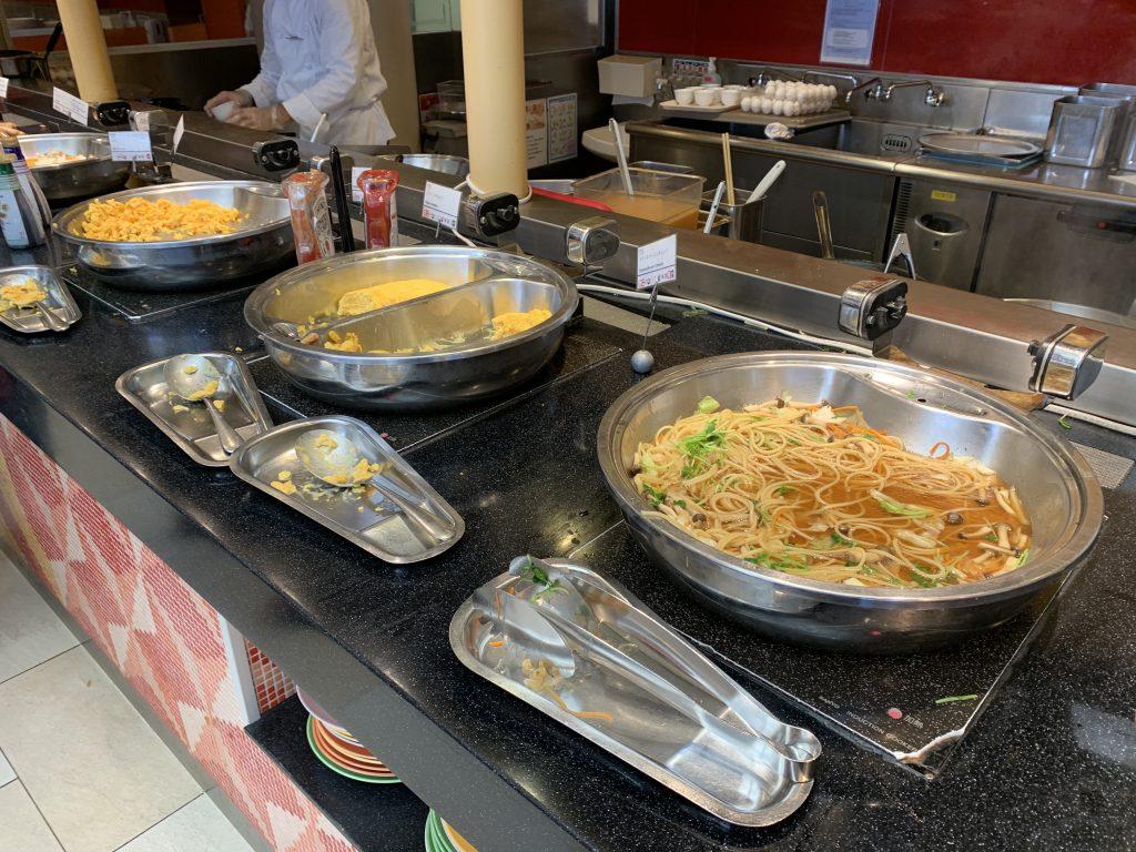 東京灣喜來登大酒店Grand-Café-早餐有意粉