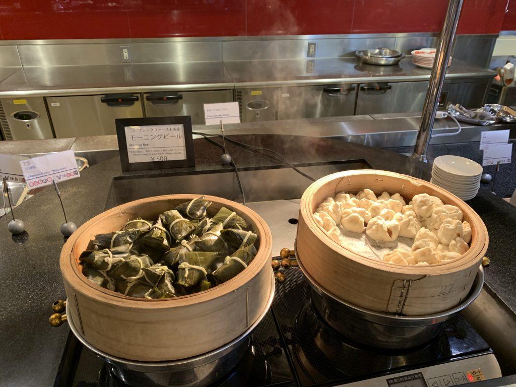東京灣喜來登大酒店Grand-Café-早餐有中式粽和包點