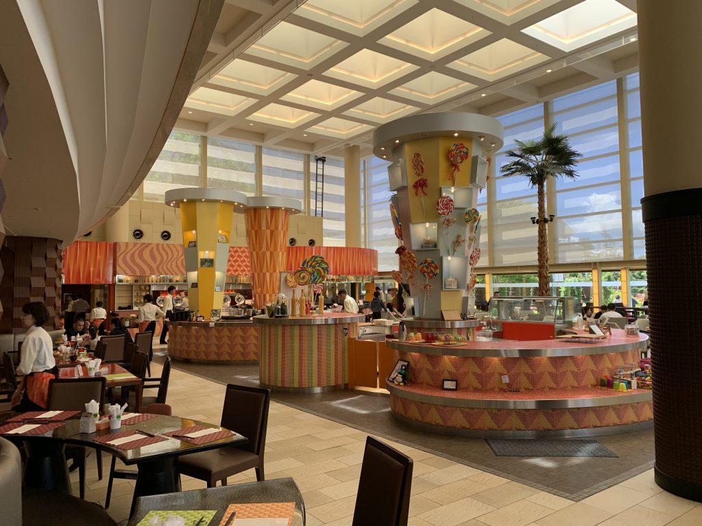 東京灣喜來登大酒店Grand-Café-餐廳的自助取餐區