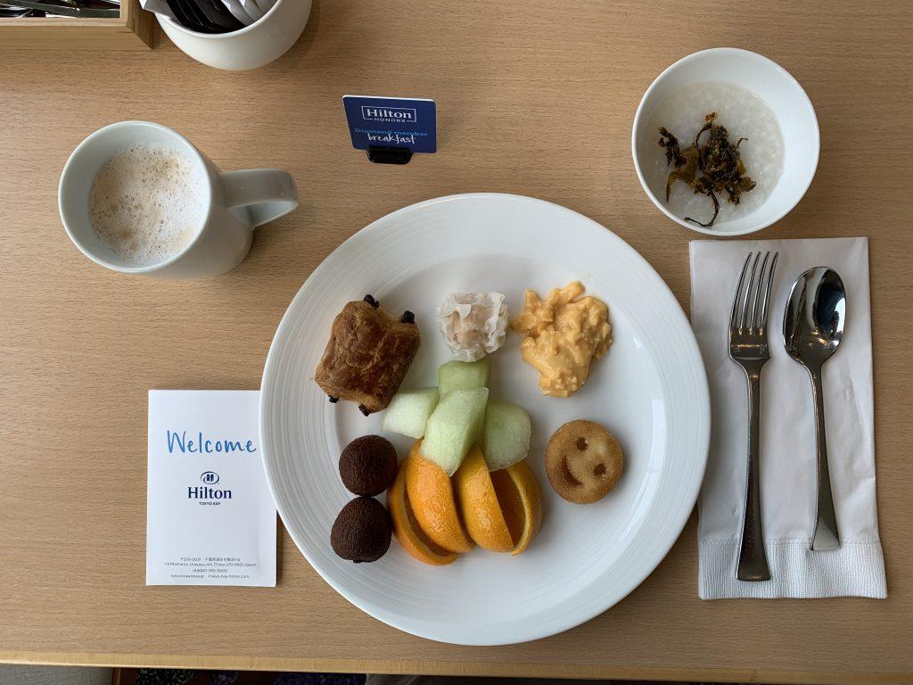 Hilton Tokyo Bay Lounge O-是日早餐