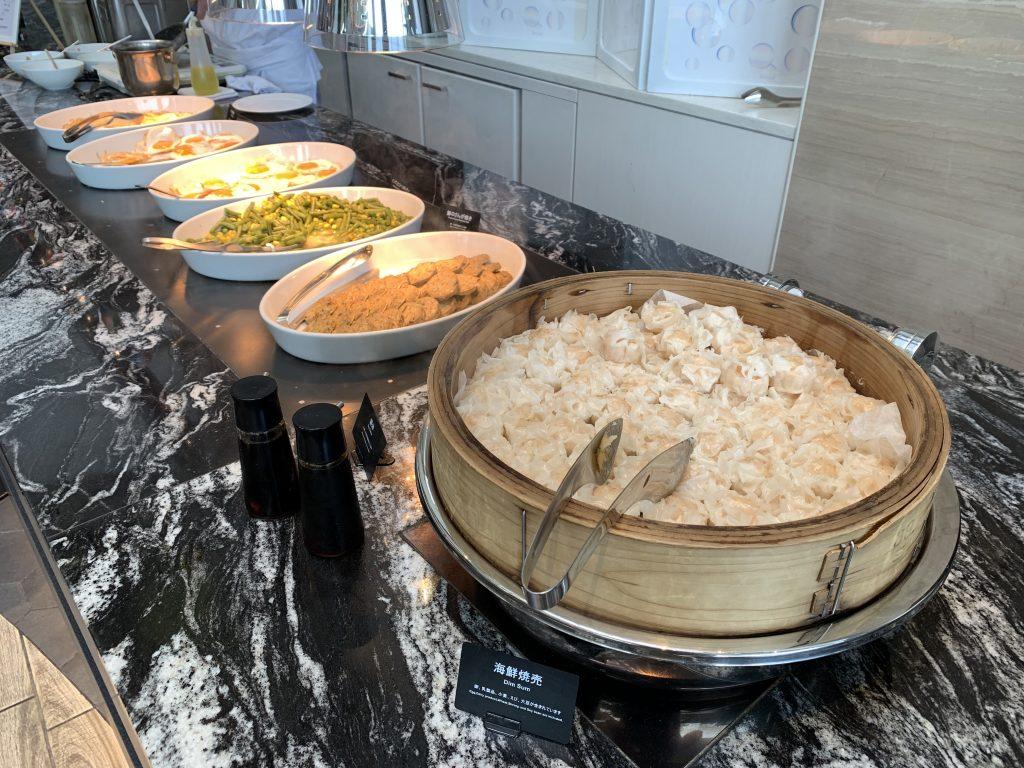 Hilton Tokyo Bay Lounge O-早餐有日式燒賣