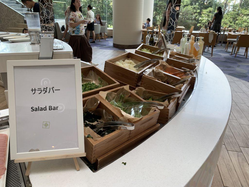 東京灣希爾頓酒店Lounge O-早餐沙律吧