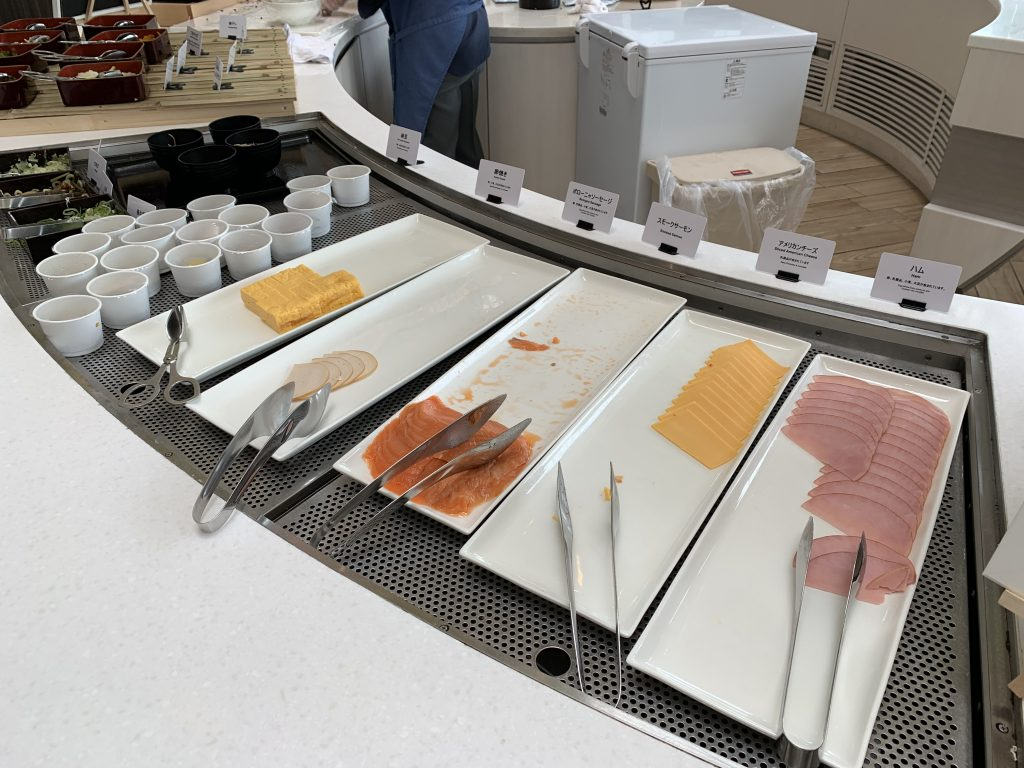 東京灣希爾頓酒店Lounge O-早餐有西式冷盤