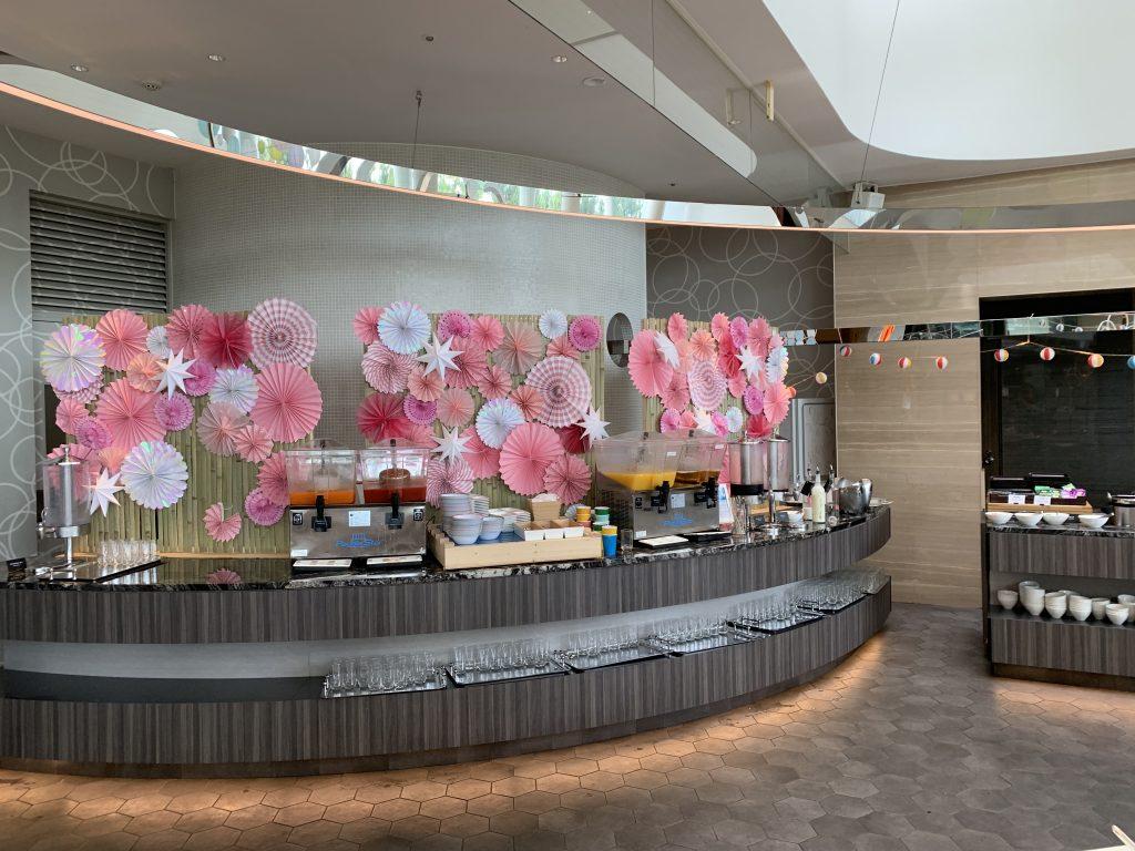 Hilton Tokyo Bay Lounge O-早餐果汁吧