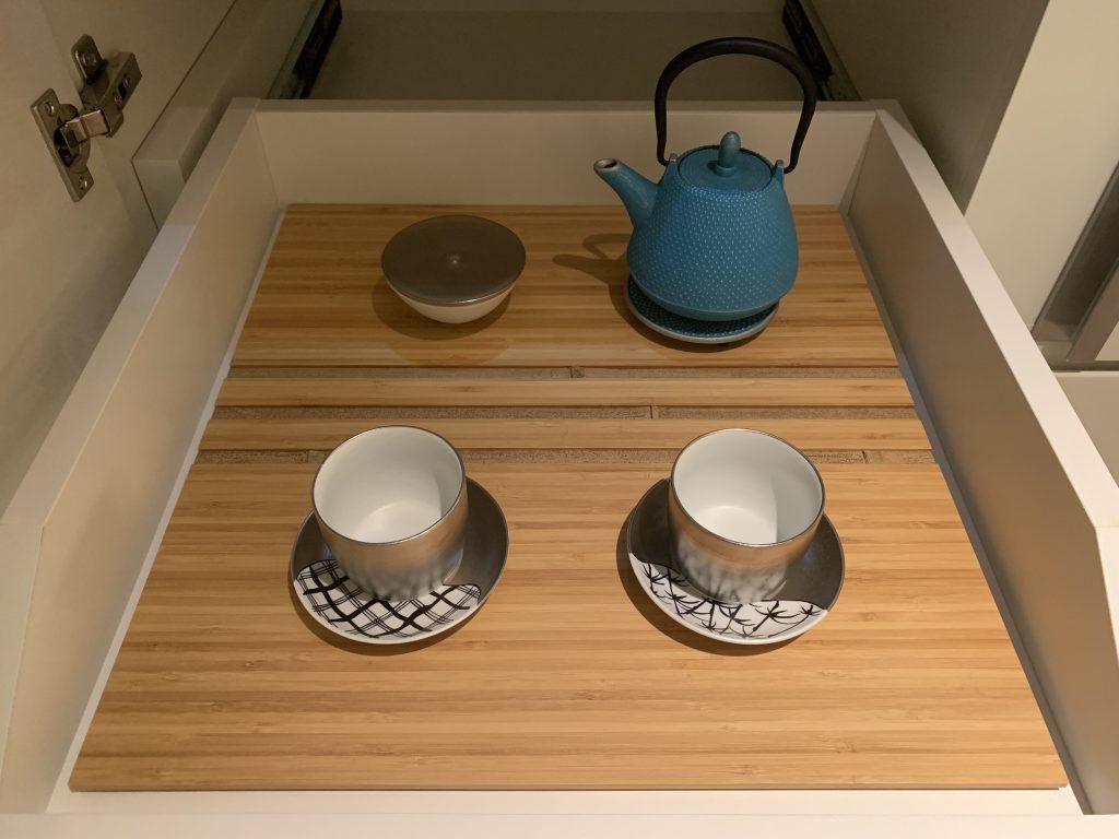 The Prince Gallery Tokyo Kioicho-房間餐飲吧有茶具
