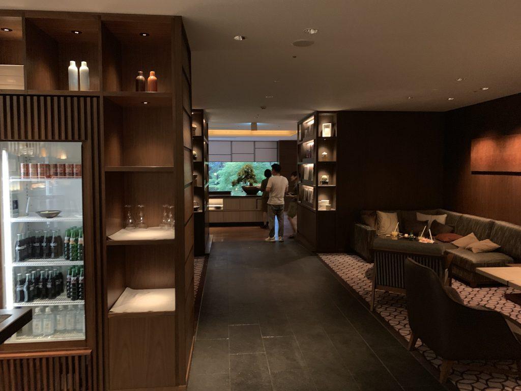 高輪格蘭王子大酒店花雅俱樂部酒廊-Club Lounge內部
