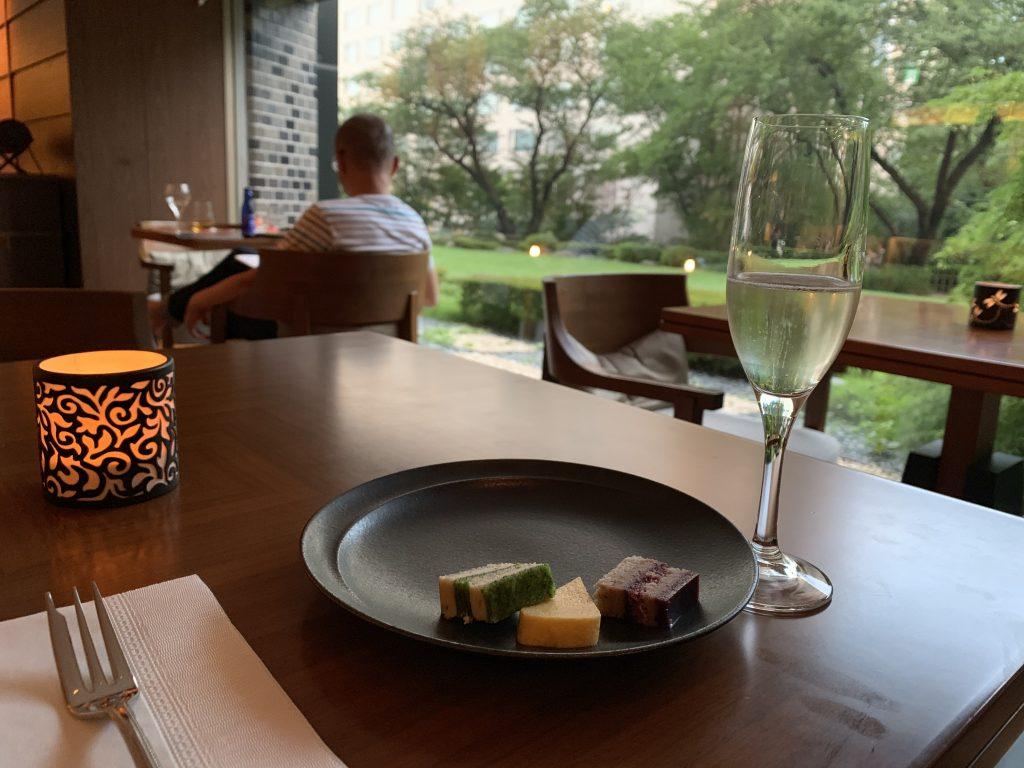 Grand Prince Hotel Takanawa Hanamiyabi Club Lounge-是日Happy Hour食物