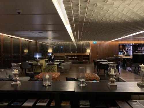 曼谷希爾頓素坤逸酒店行政酒廊環境
