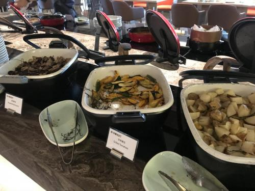 早餐西式蔬菜熟食區