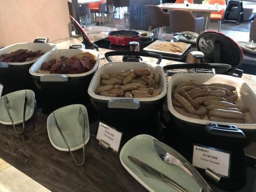 早餐有煙肉和西式香腸