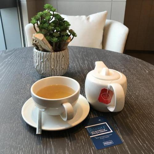 行政酒廊全天候供應茶飲