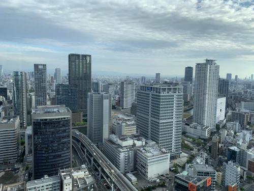盡覽大阪都市景色