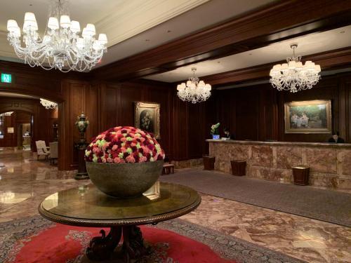 酒店接待處,裝飾花朵滲透花香