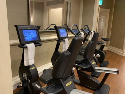 健身中心擁有先進設備