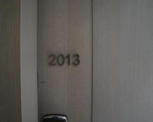 今次住2013號房,係頂樓黎