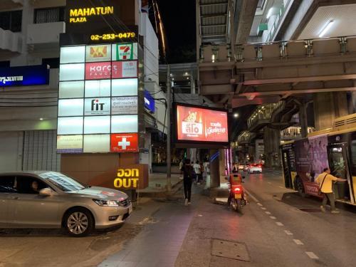 曼谷港麗酒店專用接駁車位置