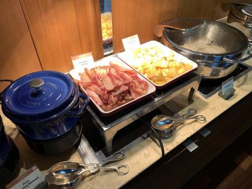 西式早餐-煙肉及馬鈴薯