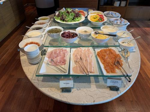 西式早餐-火腿及沙律
