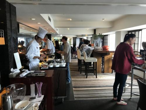 行政酒廊早餐時段