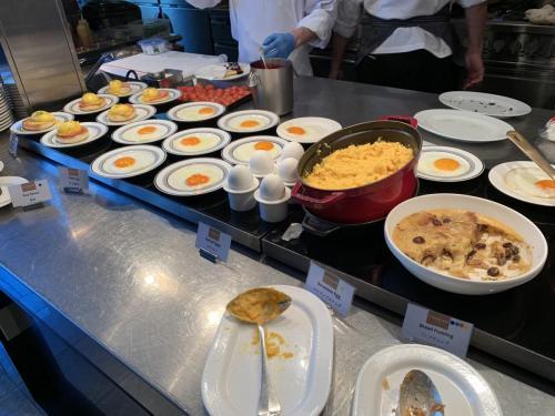 西式早餐區