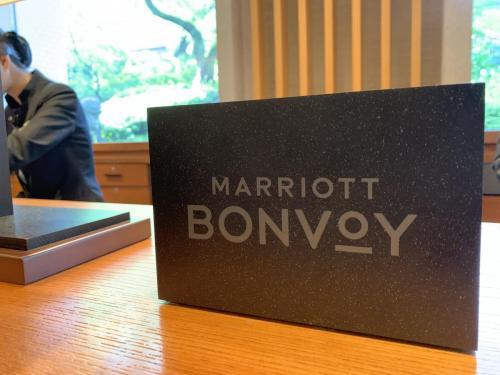 Marriott Bonvoy萬豪旅享家會員接待櫃檯
