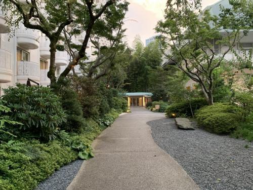 酒店可通往另外兩間酒店