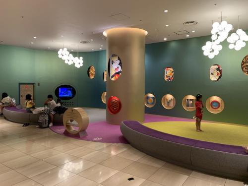 酒店大堂特設兒童遊戲區