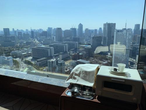 Club Lounge窗外的東京都市景致可盡收眼簾