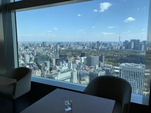 餐廳可眺望東京都市景致