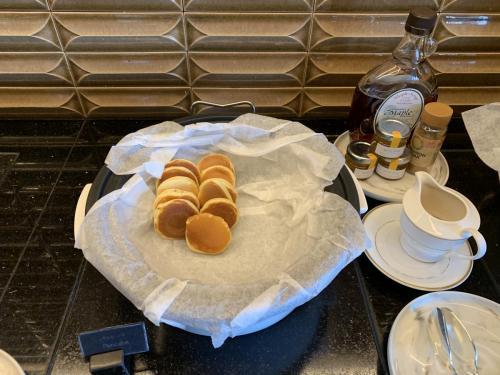 早餐有pancake