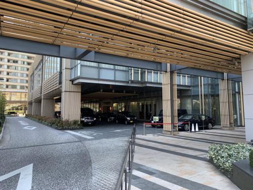 酒店正門入口停車處