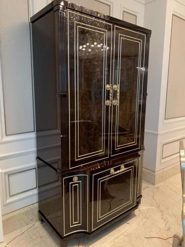 茶水櫃,門可關