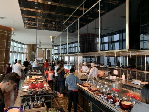 珠海瑞吉酒店 早餐Social