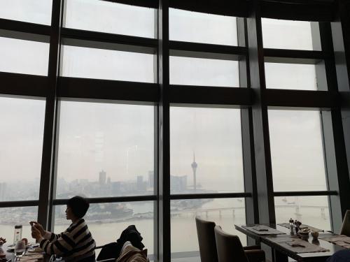 珠海瑞吉窗外景色