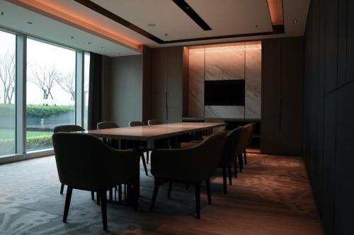 行政酒廊會議室,萬豪會員每日可以免費使用兩小時