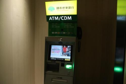 酒店大堂後面就有ATM,好方便唔洗四圍搵