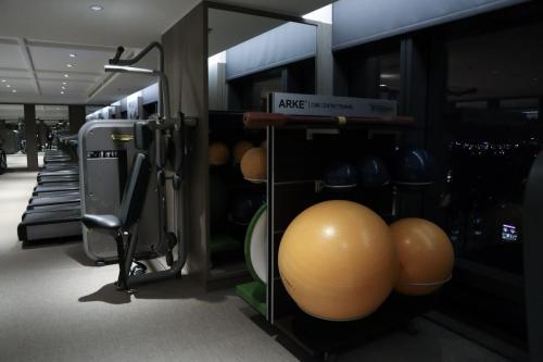 健身室設備齊全