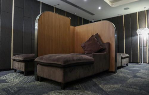 休息區設躺椅,可以好好休息下