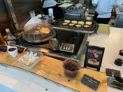 早餐有Pancake Station,可即叫即煮Pancake